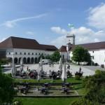 Ljubljana Castle inside