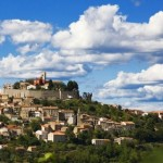 Istria - Motovun town panorama