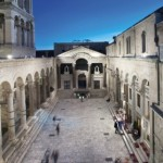 Split - Peristil square