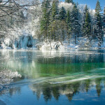 Plitvice Lakes winter 2