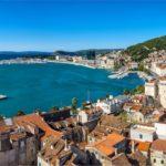 Split - old historic core & harbor