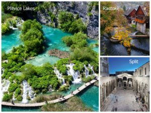 Zagreb to Split via Plitvice Lakes