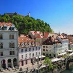 Ljubljanica river vew