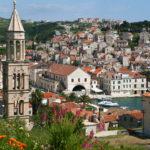 Hvar Town panorama