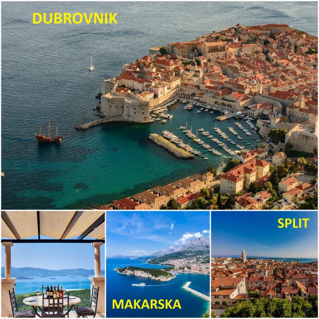 Dubrovnik to Split Scenic Winetasting Trip